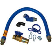 "Delux Gas Connector 3/4"" Pipe 36"" L For Dormont, DOR1675KITCFS36"