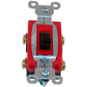 Switch, 102/277V, 20A, Red/Brown, For Blakeslee, 15260