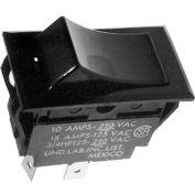 Rocker Switch, 250V, 20A, Black, For Garland, 1019203