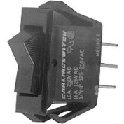 Switch, 125/250V, 10/15A, Black W/Red Light, For Nemco, 47231