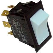 Rocker Switch, 125/250V, 20A, White, For Intermetro, RPC13-128