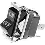 Switch, On/Off Black Rocker For Hobart, HOB343224-16