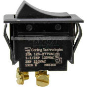 Switch, On/Off Black Rocker For Lincoln, LIN369260