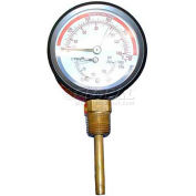"Press/Temp Gauge, 3"" Dia., 50-290F, 0-200 PSI, For Hatco, 03.01.003.00"