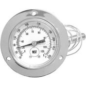 Gauge, Temperature -20-220, Flange Mount For Carter Hoffman, CAR18616-0014