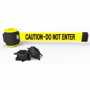 """Banner Stakes MH5002 - 30' Magnetic Wall Mount Barrier, """"Caution - Do Not Enter"""" Banner"""