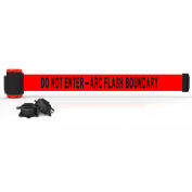 "Banner Stakes MH7010 - 7' Magnetic Wall Mount Barrier, ""Do Not Enter - Arc Flash Boundary"" Banner"