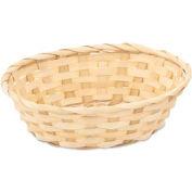 Alegacy 485 - Bread Basket, Round Bamboo - Pkg Qty 12