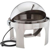 "Alegacy AL570AE - 15"" Round Savoir™ Chafer With Brass Legs/Electric"