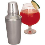 Alegacy CS277WC 16 Oz. Cocktail Shaker With Cover And Strainer, Smooth Package Count 12