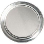 "Alegacy FHA10 - Flat Rim Tray, 10"" Flat Rim Aluminum Pizza Tray, .040"" Thick - Pkg Qty 12"