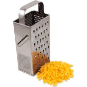 "Alegacy SSG4 - Stainless Steel Square Grater 9"" - Pkg Qty 12"