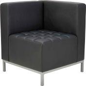 "Alera® Corner Sectional Seating - 26-3/8"" x 26-3/8"" x 30-1/2"" - Black - QUB Series"