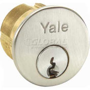 "Yale® Mortise Cylinder, 626 S, C Keyway, 1-1/8""L"