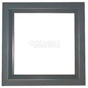 "CECO Door Window Kit, Glass Not Included, 11""W X 11""H"