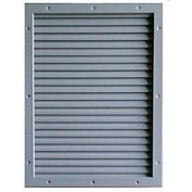 "CECO Door Louver Kit, Galvannealed Steel, Fire Rated, 24""W X 24""H"