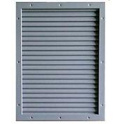 "CECO Door Louver Kit, Galvannealed Steel, 8""W X 8""H"