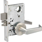 Yale® Mortise Lockset Privacy, Rose 626 Finish, Grade 1, AU Handle