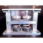 """Andre SSR-2-257-204 - Restrained Spring Isolators 10""""L x 6-5/16""""W x 8-5/8""""H"""