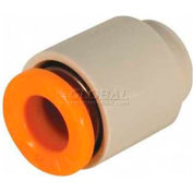 "Smc® Tube Cap Kq2c-01a-Yr, Kq2 Series, 1/8"" O.D. - Pkg Qty 10"