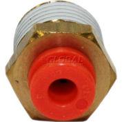 """Smc® Male Connector Kq2h01-32-X34, Kq2 Series, 1/8"""" O.D. - Pkg Qty 10"""