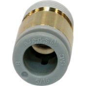 Smc® Hex Socket Head Male Connector Kq2s06-02as-X12, Kq2 Series, 6mm O.D. - Pkg Qty 10