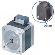 Oriental Motor® Stepping Motor W/200 P/R, 2Ch Encoder, PKP245U12A-R15-L, Round Shaft, 4.56 VDC