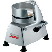 "Sirman AP4 - Manual Hamburger Patty Press, Aluminum & Stainless Steel, 4"" Dia."