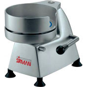 "Sirman AP6 - Manual Hamburger Patty Press, Aluminum & Stainless Steel, 6"" Dia."