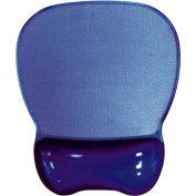 Aidata Crystal Gel Mouse Pad Wrist Rest, Purple