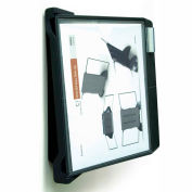 Aidata FDS006L Wall-Mount/Add-On Reference Organizer, 10 Panel