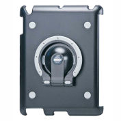 Aidata ISP302BG Multifunction Stand for iPad 2, 3 & 4, Black Shell with Black and Gray Ring