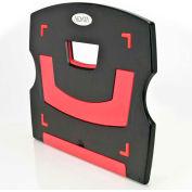 Aidata Laptop/Tablet Riser, Black/Red