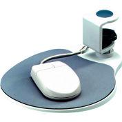 Aidata Under-Desk Mouse Platform, Platinum