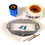 "Aigner 8526FL Floor Label Kit, 2"" X 6"" Label, Aluminum Frame"