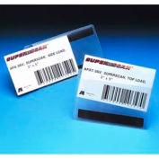 "Label Holders, 4"" x 6"", Clear, Hook/Loop - Side Load (50 pcs/pkg)"