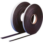 "Self Adhesive Magnetic Strip, 100 ft x 1"" H Roll"