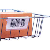 "Label Holder, Wire Basket/Display, Clear 3"" (25 pcs/pkg)"