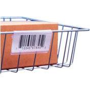 """Label Holder, Wire Basket/Display, Clear 3"""" (25 pcs/pkg)"""