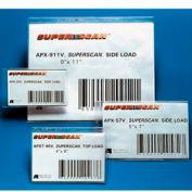 4 PACK200mm x 100mm BLUE Magnetic LabelsDIY Name Shelve Racking Label