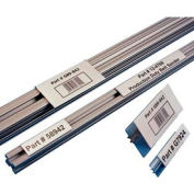 """Label Holders, 1"""" x 6"""", Clear, T-Slot Aluminum Extrusion (25 pcs/pkg)"""