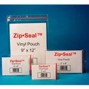 """Zip Seal Vinyl Pouches, 5"""" x 8"""", Magnetic (25 pcs/pkg)"""