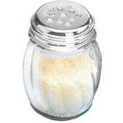 American Metalcraft 3306 - Cheese Shaker, 6 Oz., Glass, With Stainless Steel Top