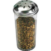 American Metalcraft 3317 - Spice Shaker, 12 Oz., Dishwasher Safe, San Plastic, Stainless Steel Top