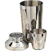 American Metalcraft CSJ116 - Cocktail Shaker, 3-Piece Set, Stainless, 16 Oz. Shaker