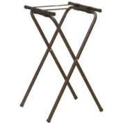American Metalcraft CTS31 - Deluxe Tray Stand, 19-1/2 x 15 x 31, Black Nylon Straps, Folding