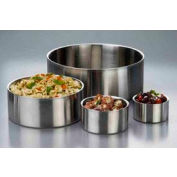 American Metalcraft DWB6 - Bowl, 6 x 3, Straight Sided, Double Wall