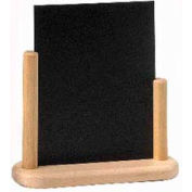 American Metalcraft ELEBME - Securit Table Board, 6 x 9, Double Sided, Removable Blackboard