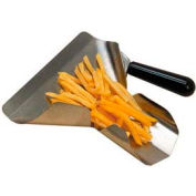 American Metalcraft FFSR1 - French Fry Scoop, Right Handle, Plastic Handle