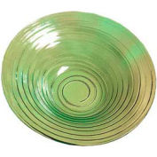 "American Metalcraft GBG14 - Bowl, 14-3/4"" Dia. x 3"" Deep, Recycled, Green-Tinted Glass"